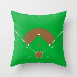Baseball Field Team Sports Throw Pillow
