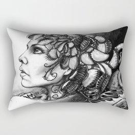 Gaia medusa - Michelle S. Have Rectangular Pillow
