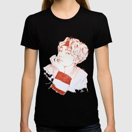 Taehyung with sanguine pencil T-shirt