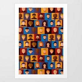 STARFLEET Art Print