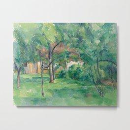 Paul Cezanne - Ferme en Normandie, ete (Hattenville) Metal Print
