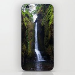 Lower Oneonta Falls, Oneonta Gorge, Oregon iPhone Skin
