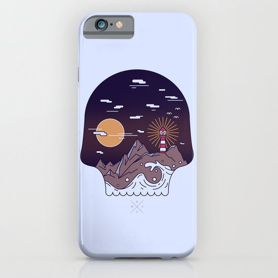 Skull Pier iPhone & iPod Case