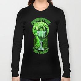 Absinthe Makes The Heart Grow Fonder Long Sleeve T-shirt