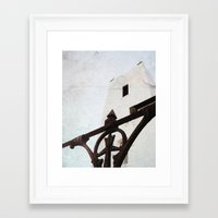 thrones Framed Art Prints featuring Church of Thrones by Judith Kimber Photography