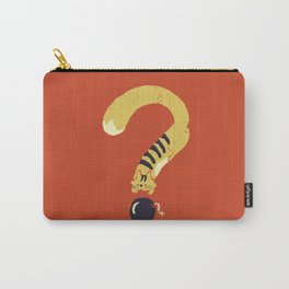 Question Mark (Curiosity Kills The Cat) Carry-All Pouch