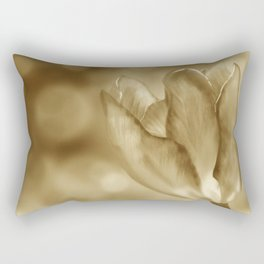 Tulip (Sepia) Rectangular Pillow