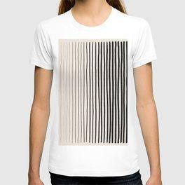Black Vertical Lines T-shirt