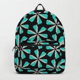 floral geometrical pattern Backpack