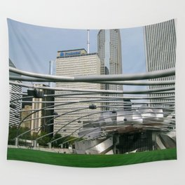 Cityscape 1 Series Wall Tapestry
