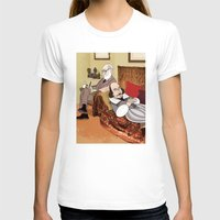 shakespeare T-shirts featuring Freud analysing Shakespeare by drawgood