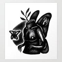 I Need Love Art Print