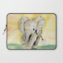 Colorful Baby Elephant Laptop Sleeve