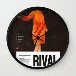 Self Rival Wall Clock