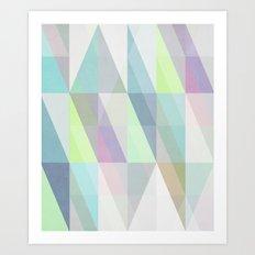 Nordic Combination 8X Art Print