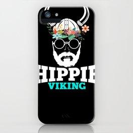 Hippie Viking iPhone Case