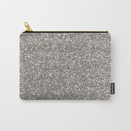 Silver Glitter I Carry-All Pouch