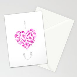 Feather Valentine Stationery Cards
