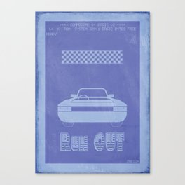 Retrogameing - Out Run Canvas Print