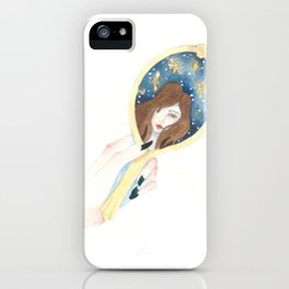 Disappearing Past Self iPhone Case