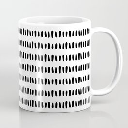 Bold Pattern Black and White Coffee Mug