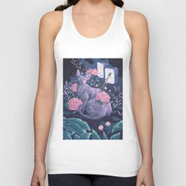 Midnight Sphynx Unisex Tank Top