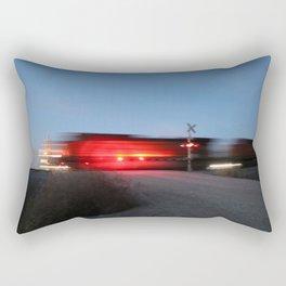 Blazing Through Rectangular Pillow