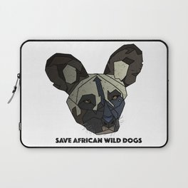 Save Wild Dogs Laptop Sleeve