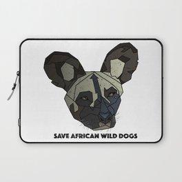 Save Wild Dogs Laptop Sleeve