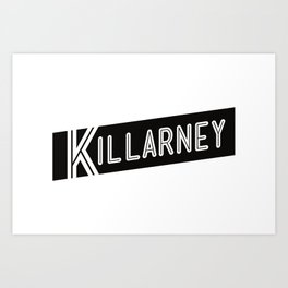 KILLARNEY Art Print