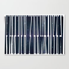 Coded Collage Canvas Print