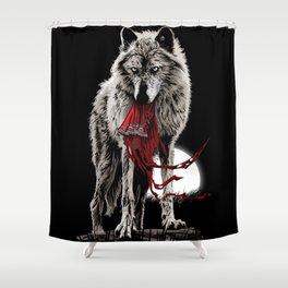 wolf Shower Curtain