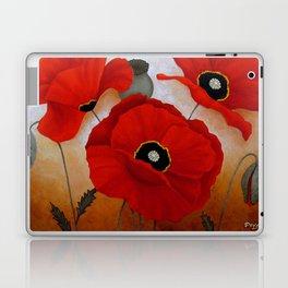 POPPIES II Laptop & iPad Skin