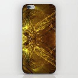 Cobra de cristal iPhone Skin