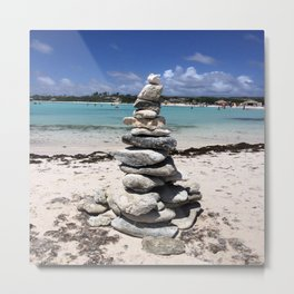 Wishing stones Metal Print