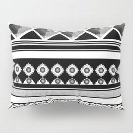 Modern Black 2 Pillow Sham