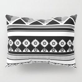 Modern Black 2 Pillow Sham