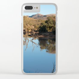 Safari Reflections Clear iPhone Case