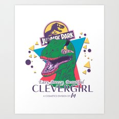 Clevergirl Art Print