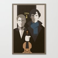 british Canvas Prints featuring British Gothic by Danny Haas