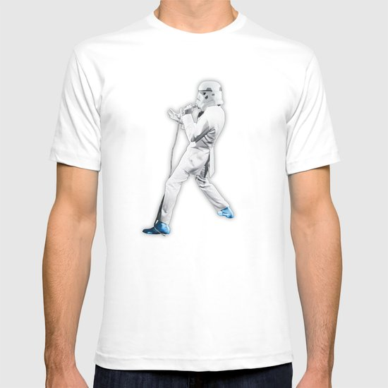 Blue Suede Trooper _ elvis and star wars T-shirt