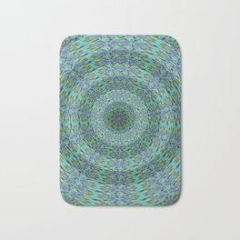 Circle pattern beaded Bath Mat