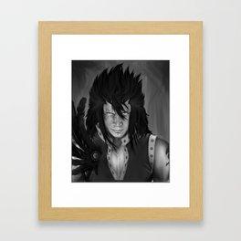 Gajeel Redfox - Iron Dragon Slayer Framed Art Print