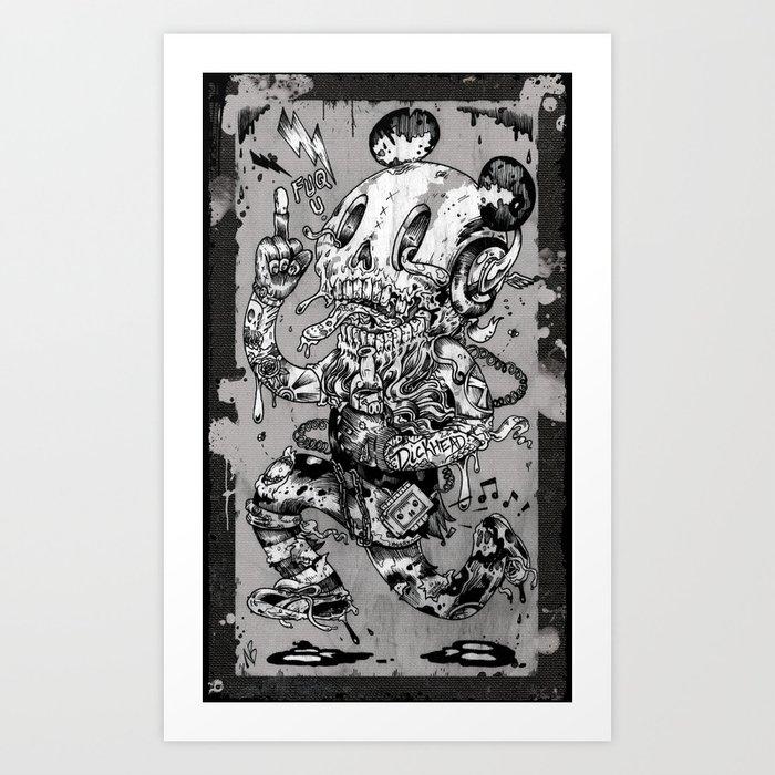 Dickhead Kunstdrucke