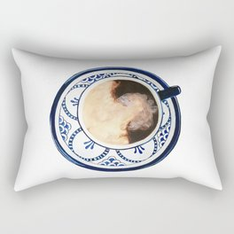 Cup of Coffee and Cream Rectangular Pillow