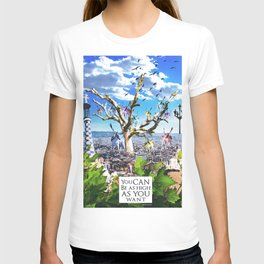 You can be as high as you want. T-shirt
