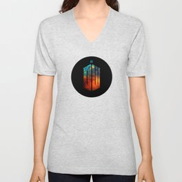 Doctor Who III Unisex V-Neck