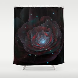 Shadowbloom Shower Curtain