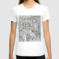 barcelona T-shirts featuring Barcelona  by Michaella Fortune