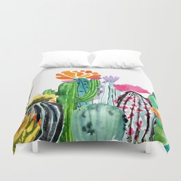 A Prickly Bunch Duvet Cover